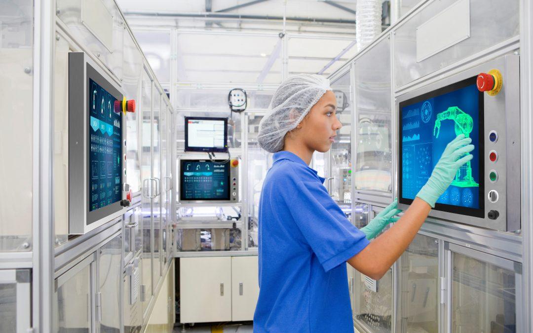 Drehscheibe Industrie- und Embedded-PC