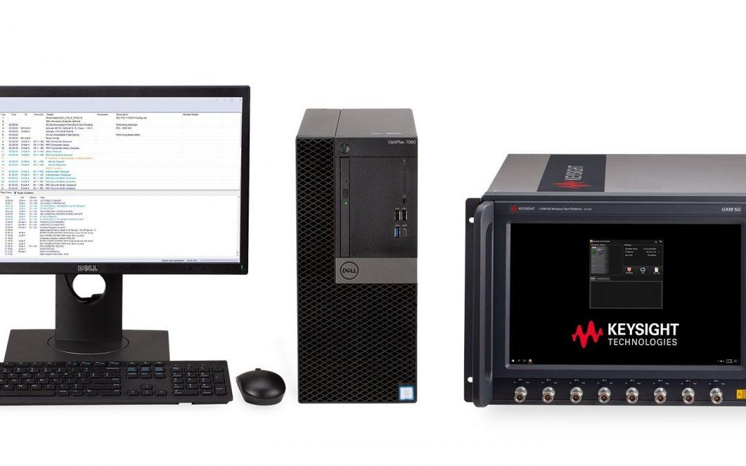 Testplattformen für 5G-New-Radio-Datenverbindung