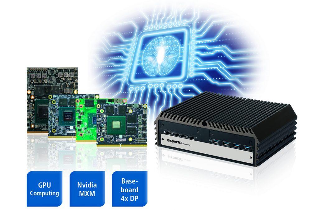 Edge-KI-Server mit MXM-GPU-Modulen
