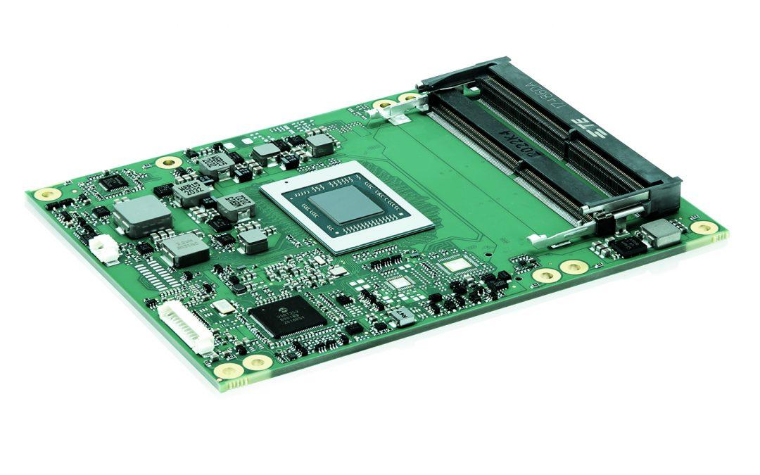 Neues COM-Express-Modul mit AMD-Ryzen-Embedded-V2000-Prozessor