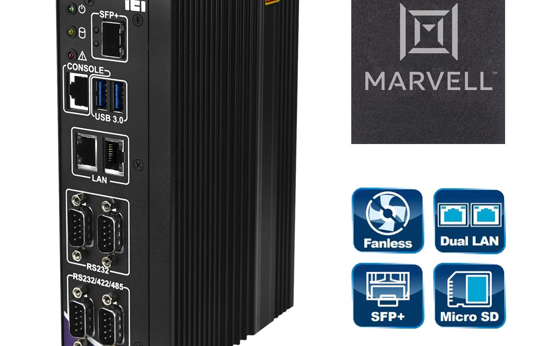 Embedded PC mit Marvell-Armada-Prozessor