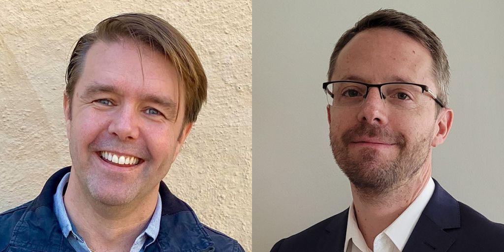 Niclas Lindström (Nordic Sales Manager) & Kristoffer Martinsson (Senior FAE)