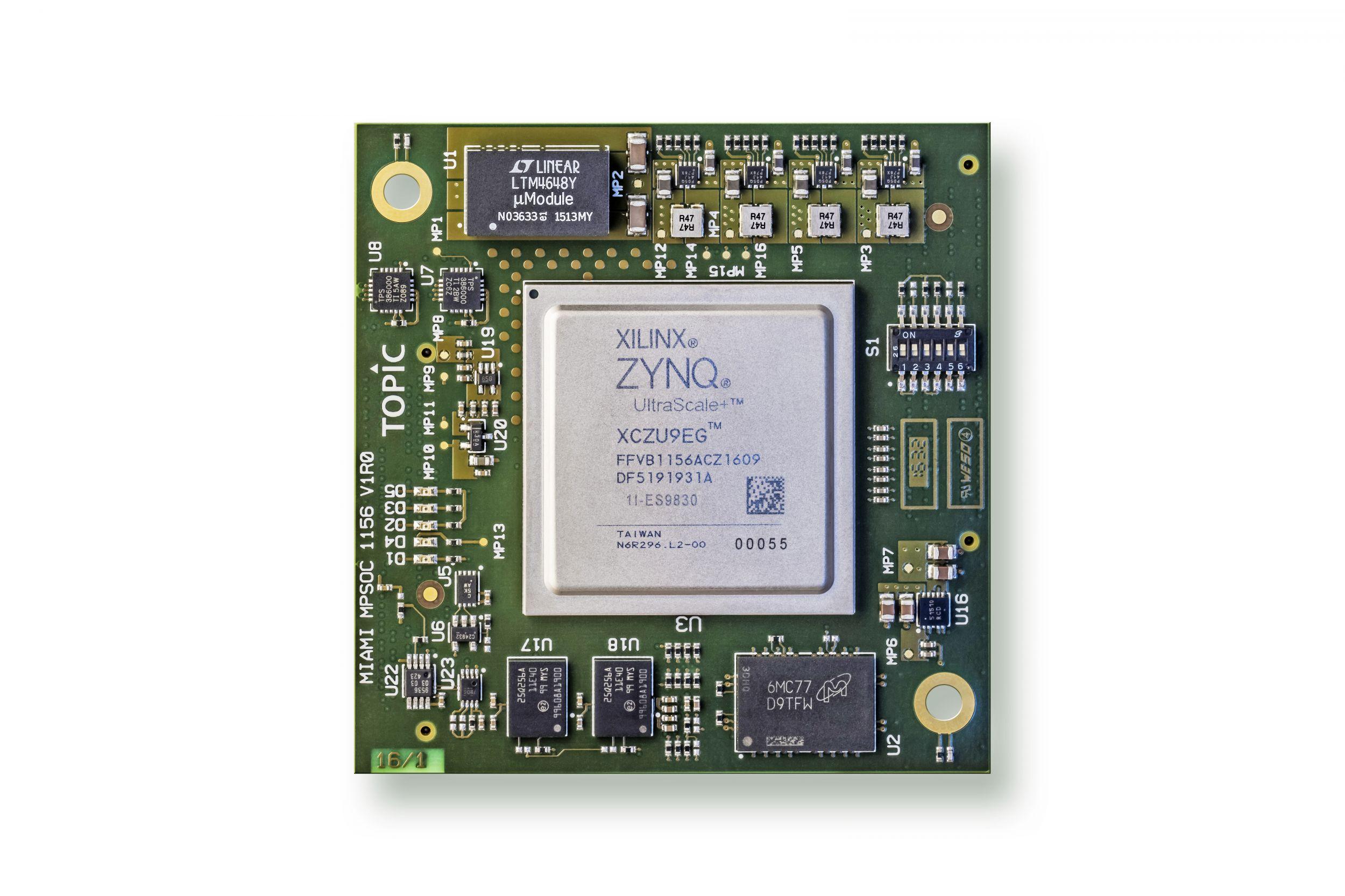 Embedded-Plattform für Kommunikation und Bildverarbeitung