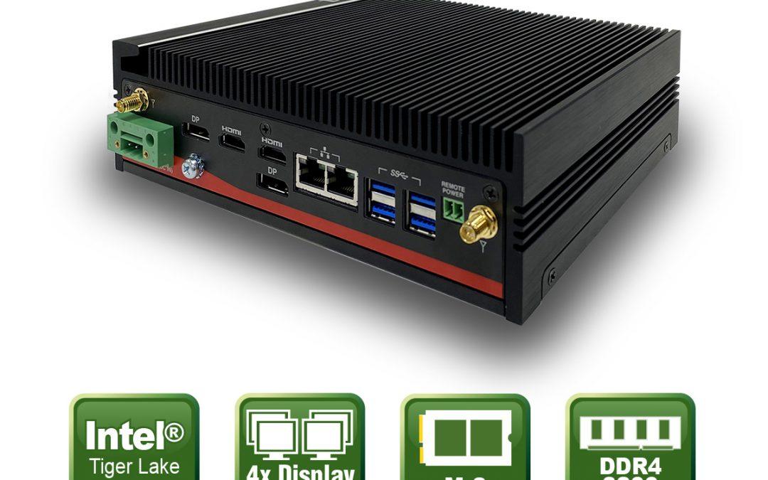 Embedded PC mit Tiger Lake Prozessortechnologie