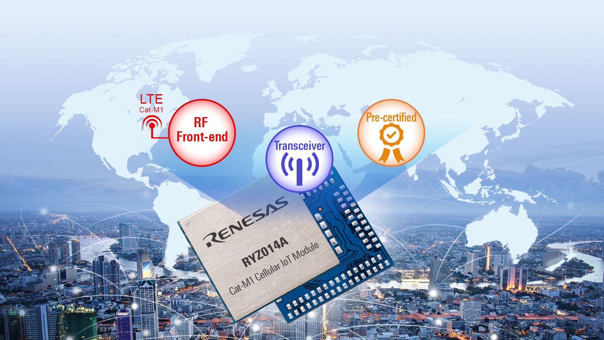 Mobilfunk-IoT-Modul ermöglicht Internetverbindung ohne Gateway