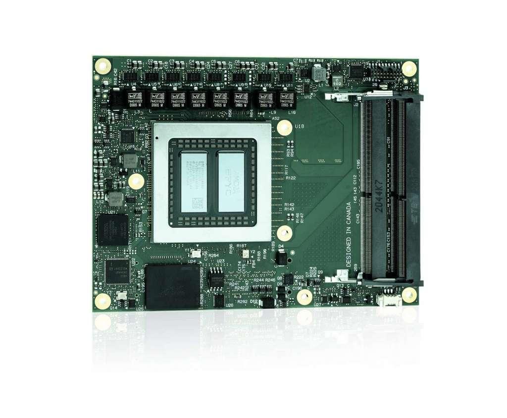Computer-on-Module für Leistung der Serverklasse in Industriequalität