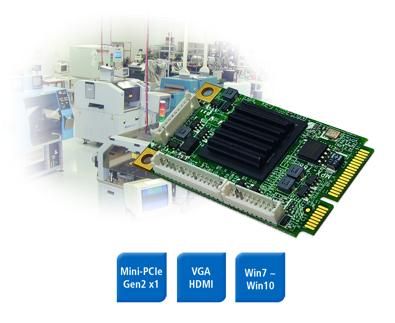 Mini-PCIe-Karte für Retrofit
