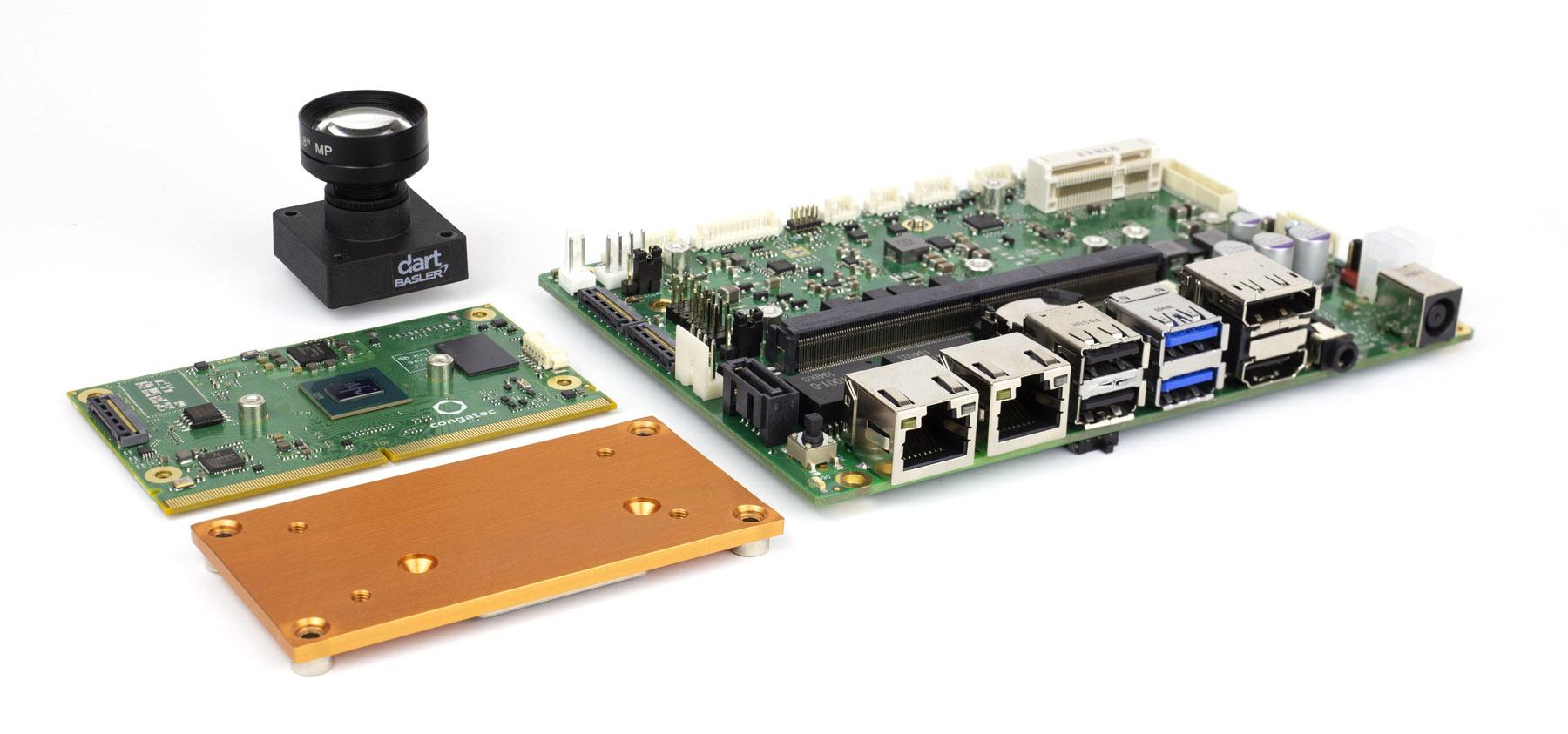 Starterset für KI-beschleunigte Embedded-Vision-Anwendungen