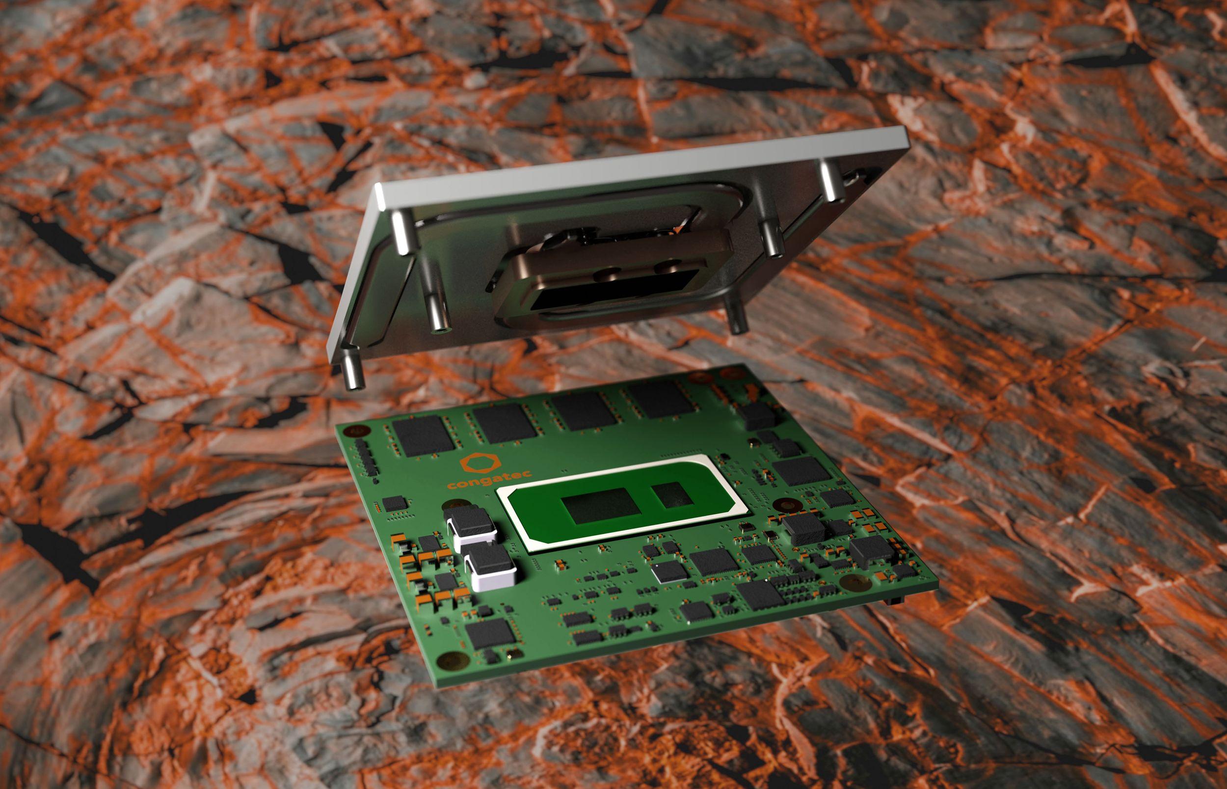 Computer-on-Module mit gelötetem RAM für Schock- und Vibrationsfestigkeit