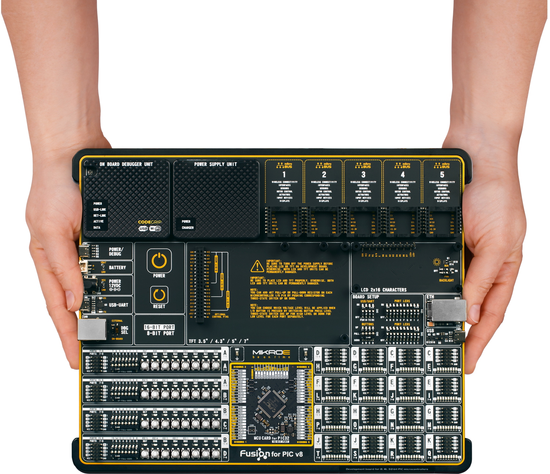 Universelles Entwicklungsboard für PIC-Mikrocontroller