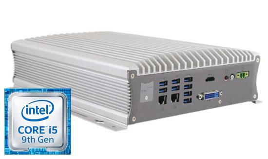 Embedded Box PC mit PoE-Unterstützung