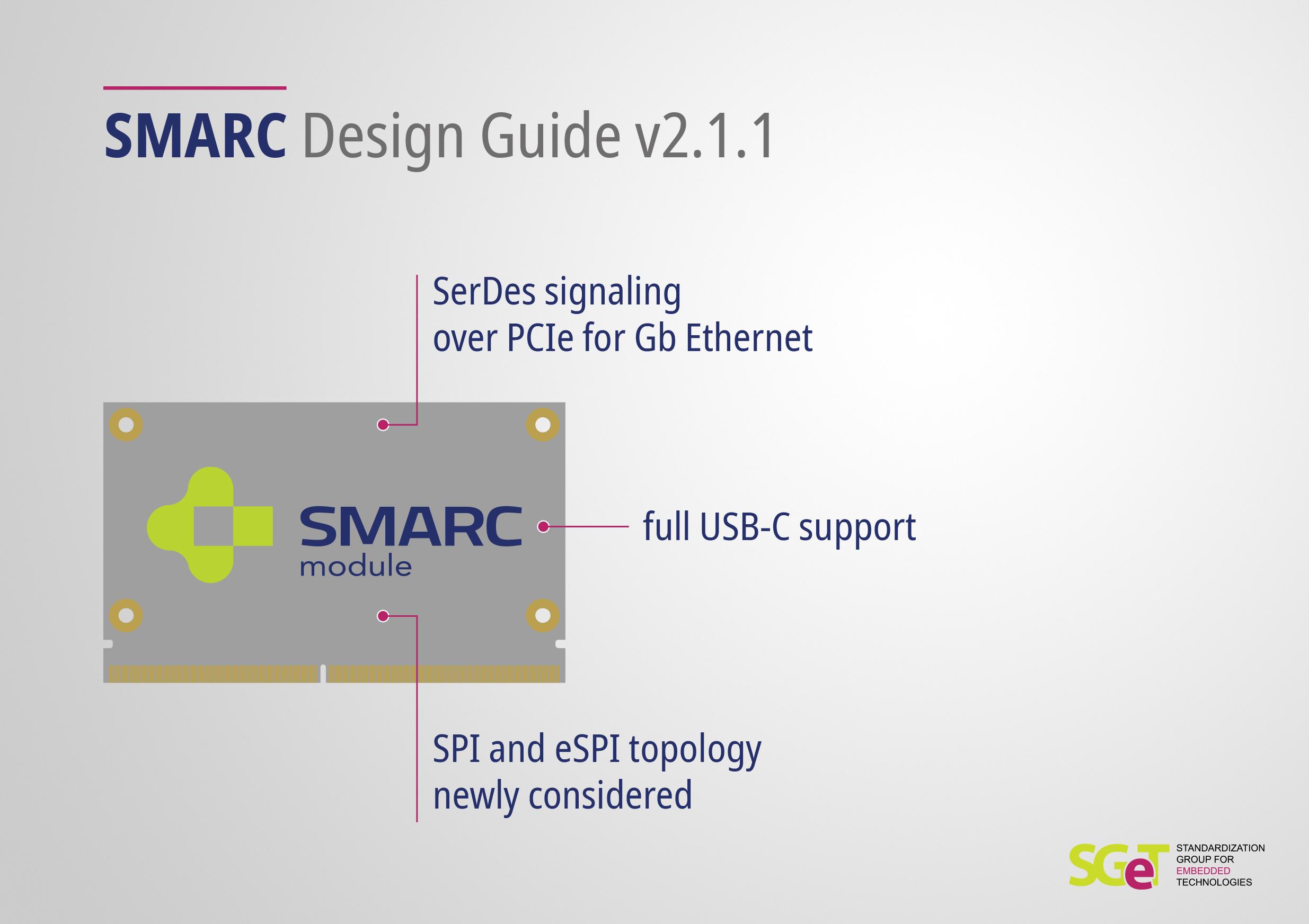 SGET veröffentlicht neuen Design Guide für SMARC-Carrierboards