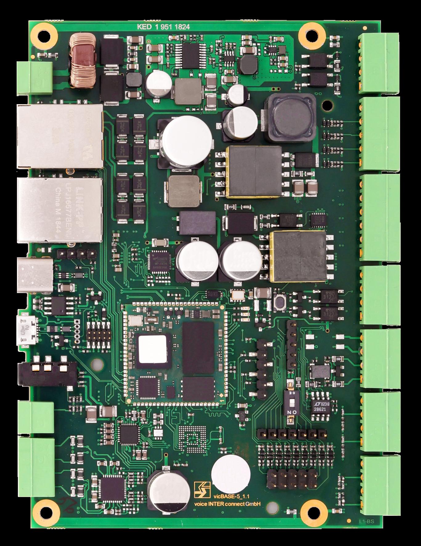 Intercom-Modulserie für Entwicklung individueller Kommunikationsgeräte