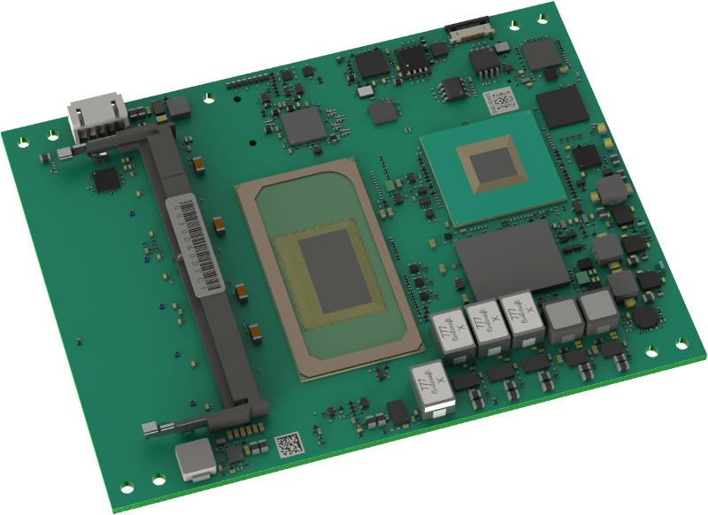 COM-Express-Modulfamilie für KI und IoT-Industrieprodukte