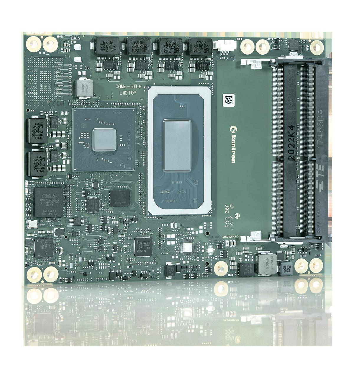 COM Express Basic Modul für Intelligent-Edge-Computing
