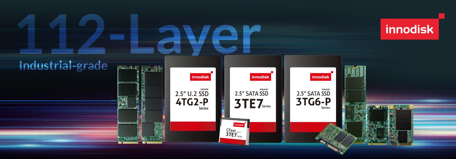 Flash- und Speicherlösungen mit industrietauglichen SSDs