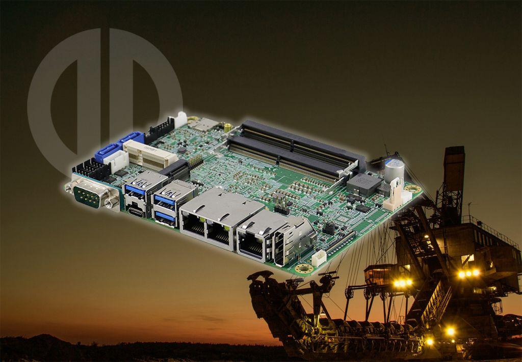 Robuster Single-Board-Computer IB836 von iBASE mit Intel x6000 jetzt im Industrieprogramm von Distec