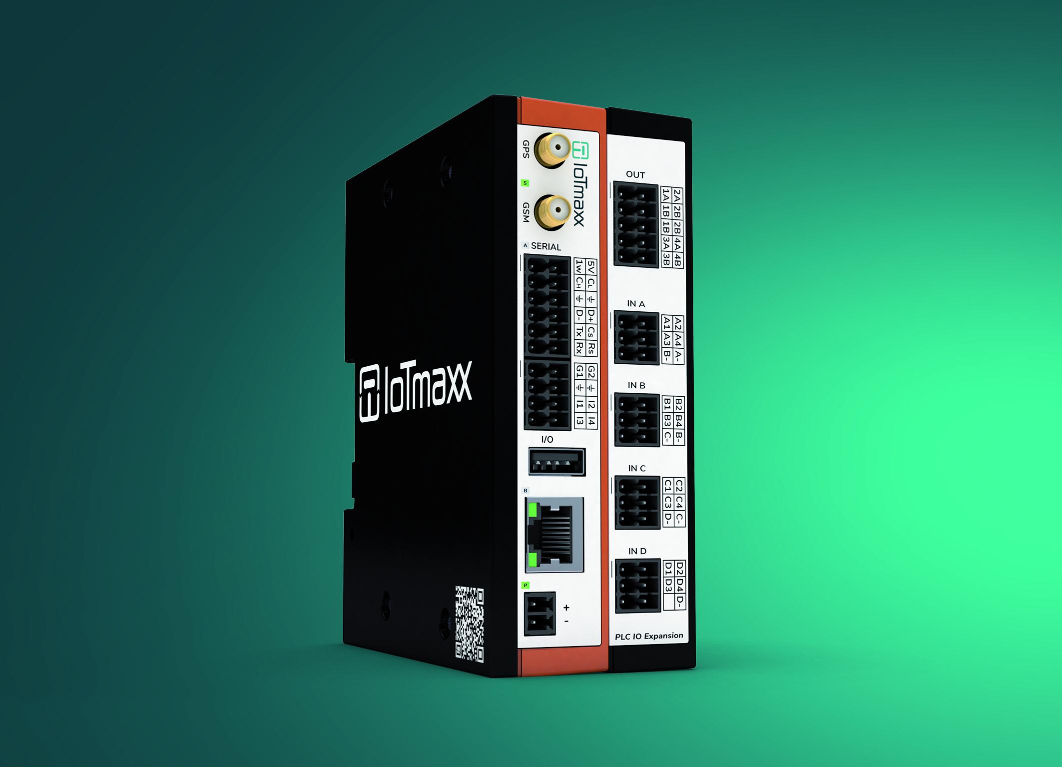Neues IIoT-Gateway mit PLC-Erweiterung