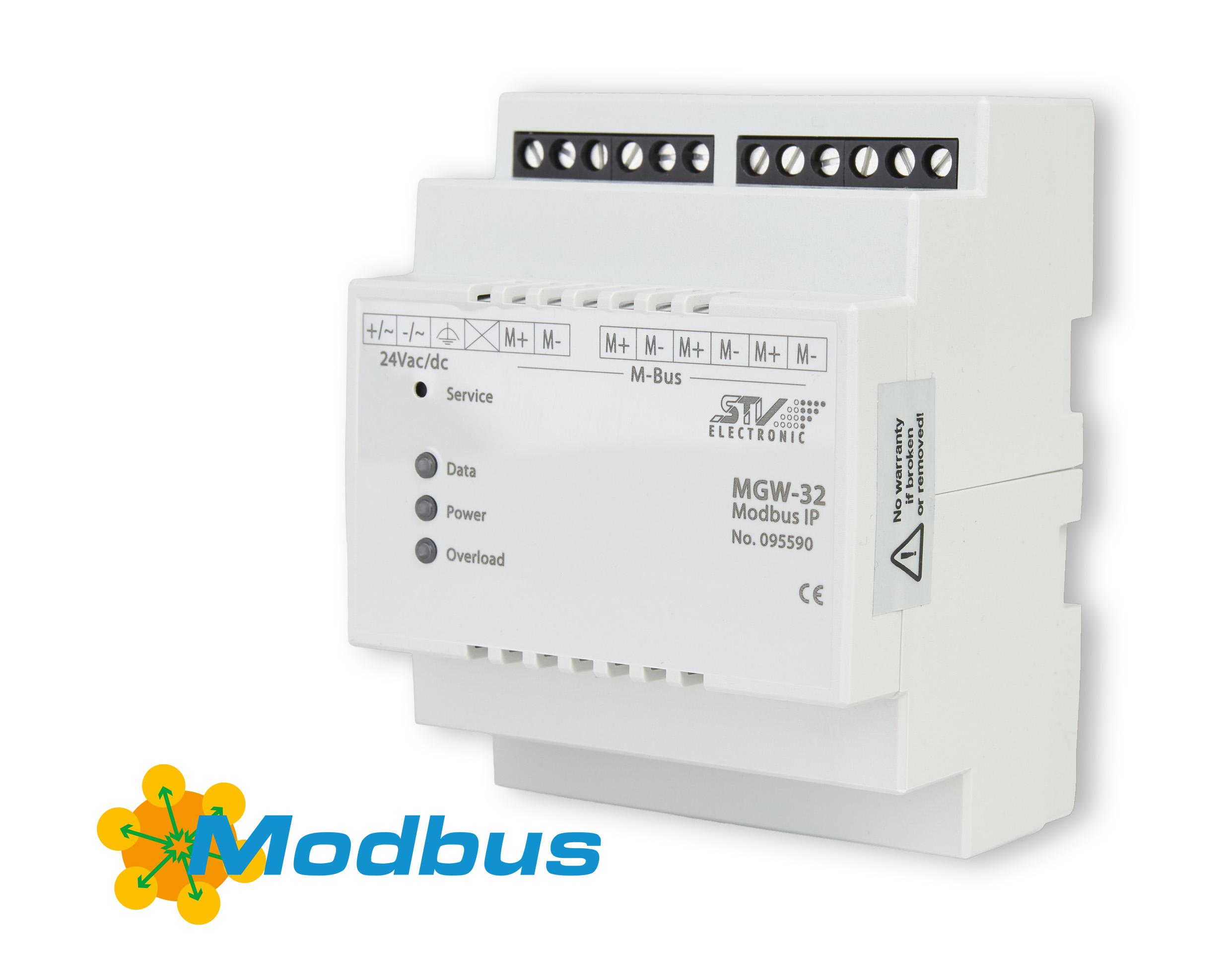 IoT-Schnittstelle für Modbus zu M-Bus Gateways