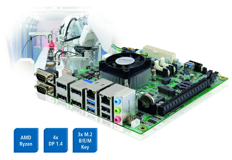 Mini-ITX Boards mit AMD Ryzen Prozessoren