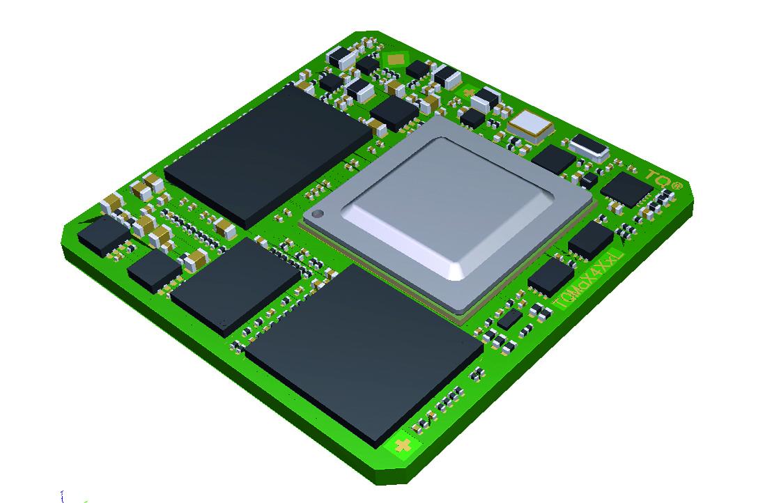 Kompaktes LGA-Modul für Echtzeitanwendungen