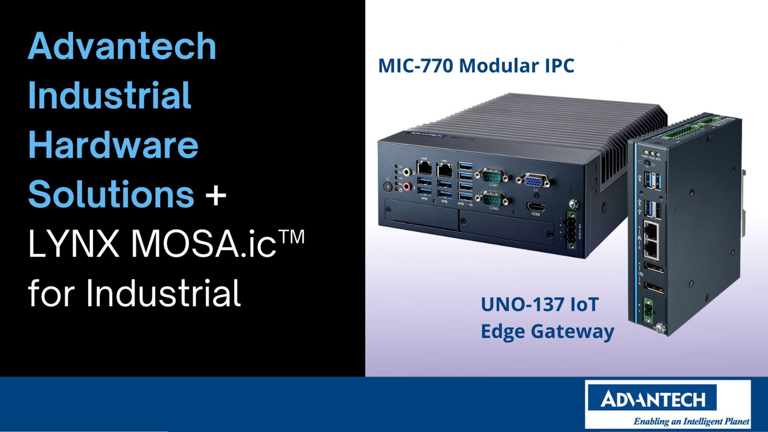 Advantech und Lynx kooperieren im Bereich IT/OT-Konvergenz