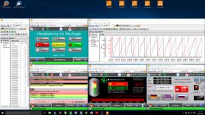 Wirkungsvoller Know-how-Schutz, BAckups, Updates und Diagnose mit der ServicestageKostenlose Leitwartenfunktion mit Remote-Screens und gleichzeitiger Anzeige von geloggten Trenddaten und Alarmmeldungen auf einem PC-Monitor. (Bilder: Insevis GmbH)