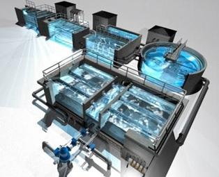 Modular zu frischem Wasser