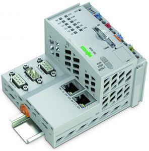 Die PFC-Familie von Wago bietet Anwendern die Möglichkeit, Daten zu codieren und sicher in übergeordnete Systeme zu übertragen. (Bild: Wago Kontakttechnik GmbH & Co. KG)