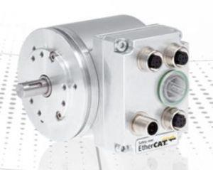 Für die ATEX-Zonen 2/22 sind zertifizierte Varianten der Standardmechanik im Nennmaß 75mm als Voll- und Hohlwellendrehgeber verfügbar. (Bild: TR-Electronic GmbH)