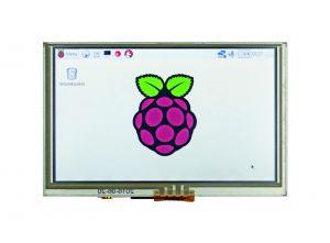 5″-Zoll-HDMI-Touchscreen-Display für Raspberry Pi-basierte Applikationen