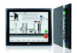Für das raue Umfeld der Industrie entweickelte Panel-PCs (Bild: Comp-Mall GmbH)