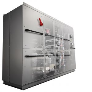 Der Mittelspannungsumrichter Vacon 3000 von Danfoss wird in Spannungen von 3.300 und 4.160V verfügbar sein. (Bild: Danfoss GmbH)