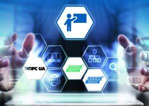 Der Kommunikationsstandard OPC UA dient der Kopplung von Produktion und IT. (Bild: Softing Industrial Automation GmbH)