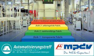 Vortrag der MES-Experten beim Automatisierungstreff 2017 (Bild: MPDV Mikrolab GmbH)