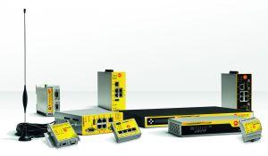 Das breite Programm an Industrieroutern und Datenmodems ermöglicht den sicheren Zugriff auf Anlagen, Steuerungen, Prozessparameter und Betriebsdaten. (Bild: MB Connect Line GmbH)