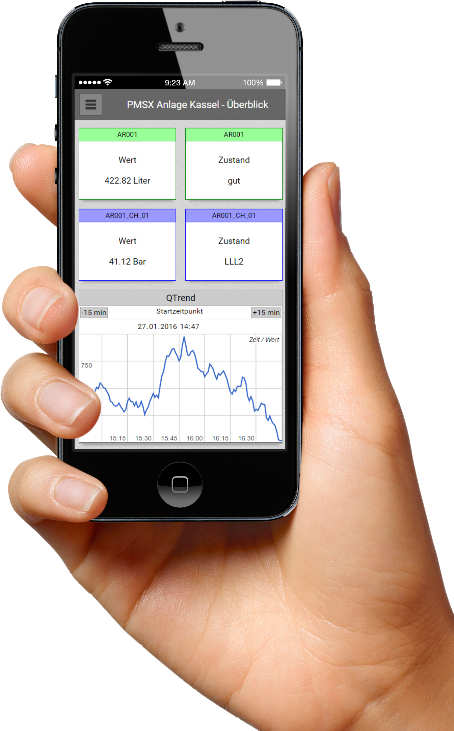 PMSXpro Web Monitoring
