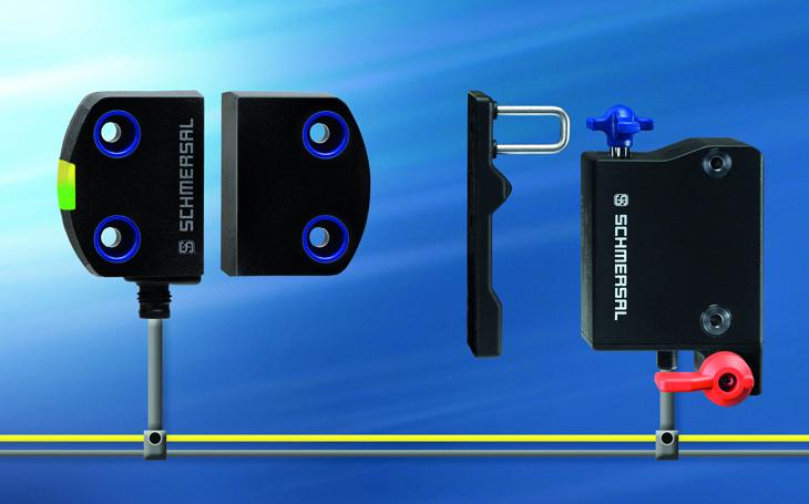 Sicherheitssensor und Sicherheitszuhaltungjetzt auch mit AS-Interface
