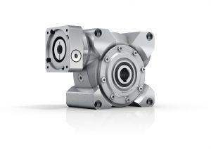 Das neu entwickelte V-Drive Basic steht zunächst in zwei Baugrößen mit Hohlwelle und Vollwelle zur Verfügung. (Bild: Wittenstein Alpha GmbH)