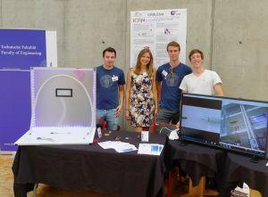 Im Gewinnerprojekt Cablebot der Universität Freiburg kommen u.a. Motoren von Faulhaber zum Einsatz. (Bild: Dr. Fritz Faulhaber GmbH & Co. KG)