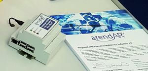 Die Firma Arend hat auf der SPS IPC Drives den Prototyp eines IoT-Knotens auf Rasberry-Pi-Basis vorgestellt. (Bild: Arend Prozessautomation GmbH)