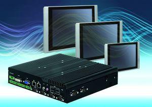 Der Embedded-PC P2002 hat eine  Bauhöhe von nur 54mm. (Bild: Comp-Mall GmbH)