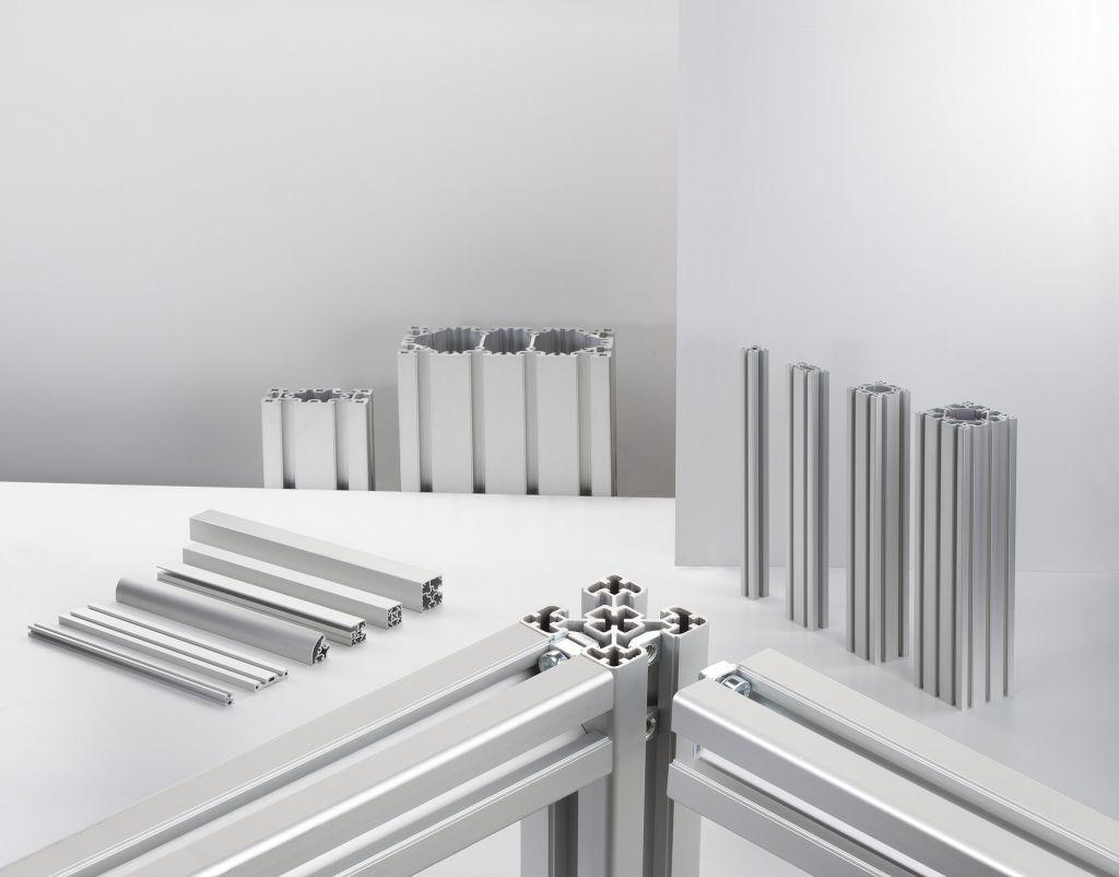Der Blocan-Profilsystembaukasten umfasst mehr als 110 verschiedene Profilgr??en und -querschnitte. (Bild: RK Rose+Krieger GmbH)