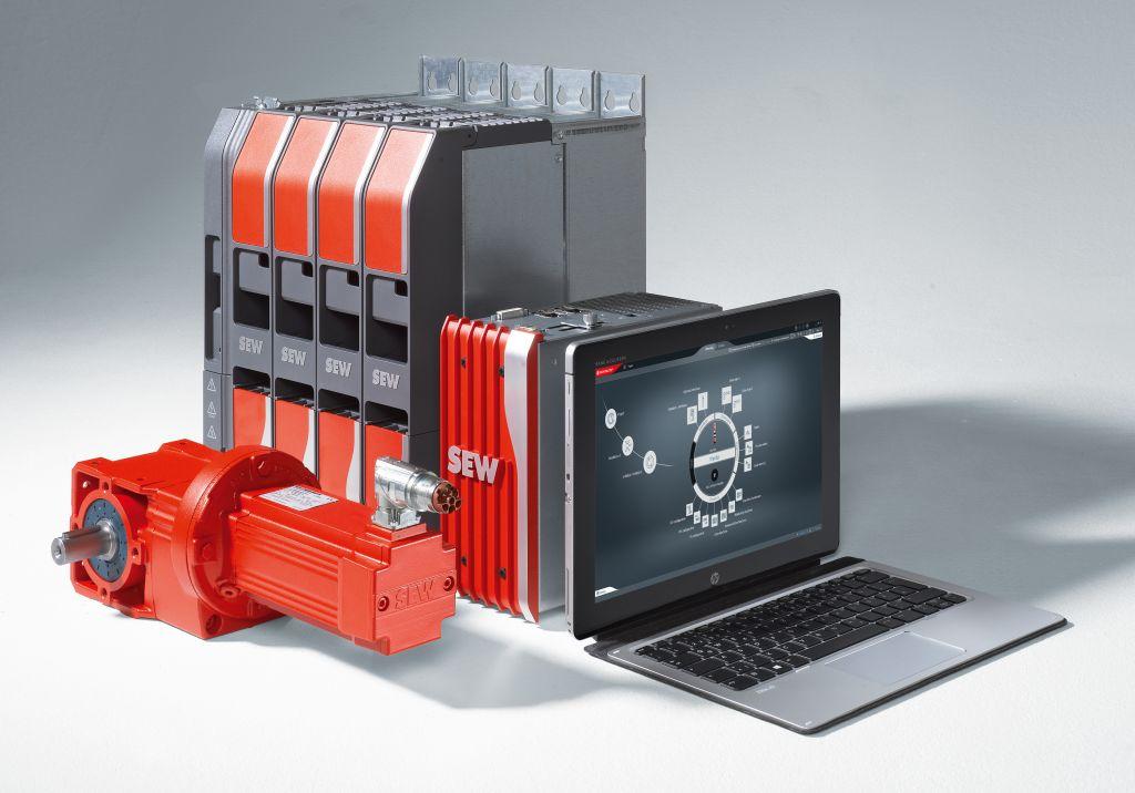 SEW-Eurodrive hat unter dem Namen Movi-C eine komplett neue Generation seiner Automatisierungs- und Antriebstechnik vorgestellt. (Bild: SEW-Eurodrive GmbH & Co KG)