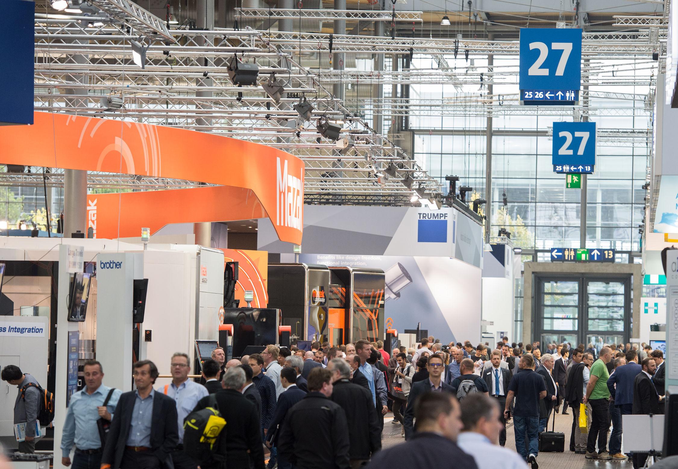 EMO Hannover: 130.000 Besucher