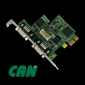 Die PC-Boards CAN-PCIe/402-FD gemäß ISO11898-1:2015 bieten Geschwindigkeiten bis zu 10 Mbit/s und übertragen bis zu 64 Byte Nutzdaten. (Bild: ESD Electronic GmbH)