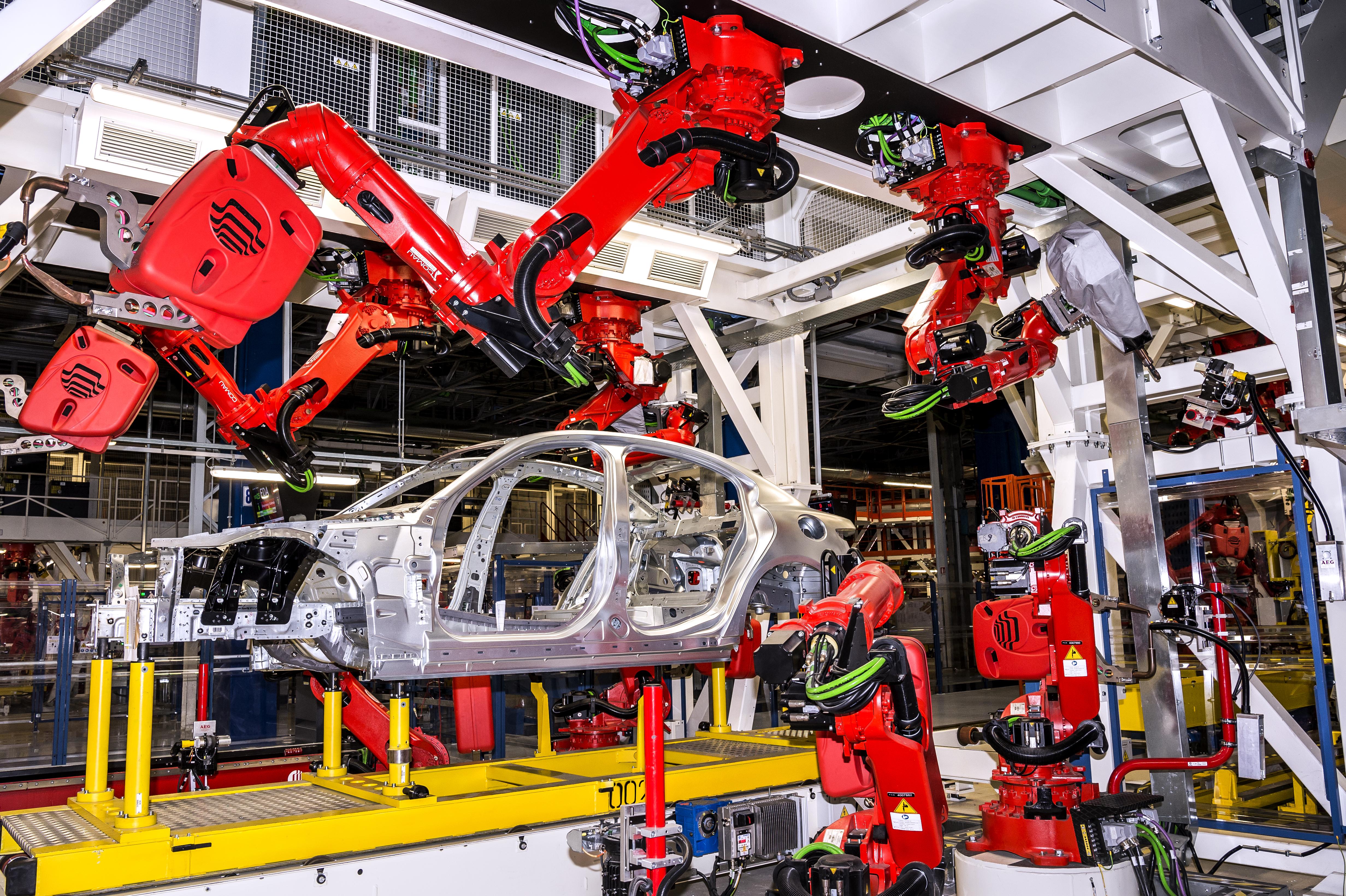In 35 Wochen zur Produktionslinie - Der Maschinenbau