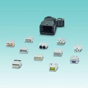 Baukastensystem: Im Produktprogramm Heavycon complete stehen vielfältige Module für Signal-, Daten- und Leistungsübertragung zur Verfügung. (Bild: Phoenix Contact Deutschland GmbH)