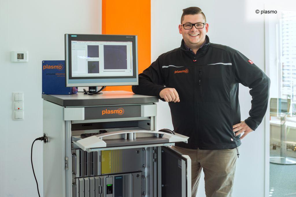 Die Firma plasmo aus Wien bietet Qualitätssicherungslösungen für die Metallverarbeitung und setzt dabei auf Simatic Industrie-PCs von Siemens. (Bild: ©plasmo)