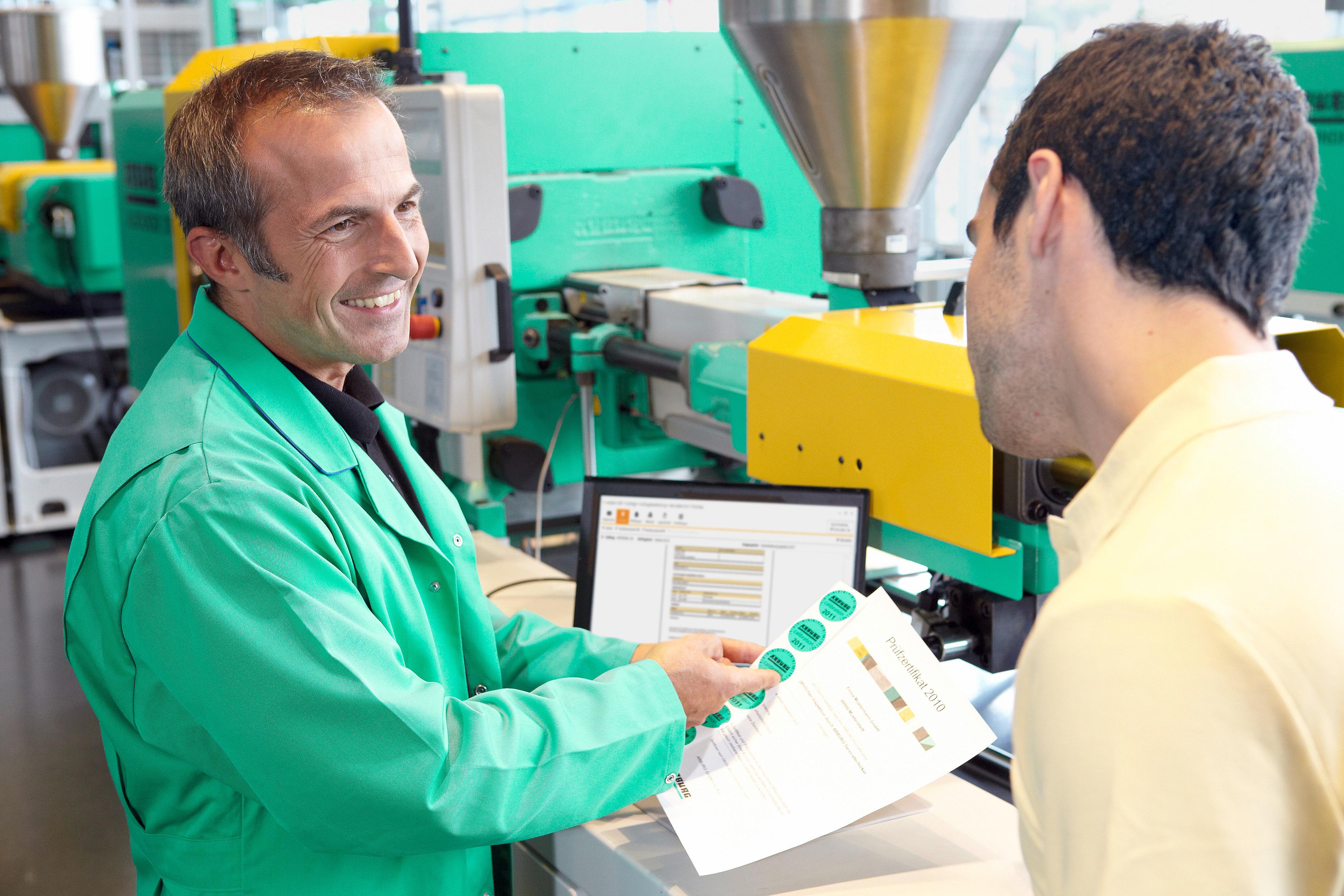 Arburg-Kundendienst in 100 Ländern